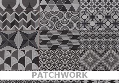 Patchwork Wandfliesen