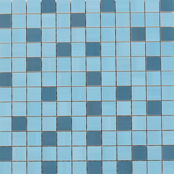 Mosaik Idea Blue Celeste 2,5x2,5cm | 30x30 cm | Restposten