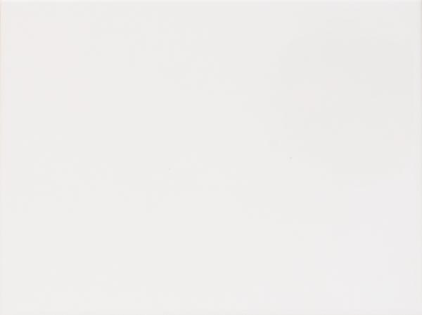 Wandfliese weiß glänzend 25x33 cm